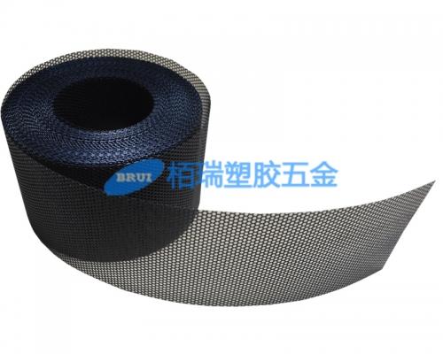 黑色塑胶喇叭网冲孔