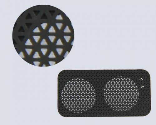 音箱三角孔喇叭网