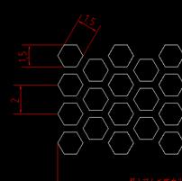 六角形喇叭网
